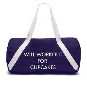 Private Party- Will Work Out for Cupcakes bag